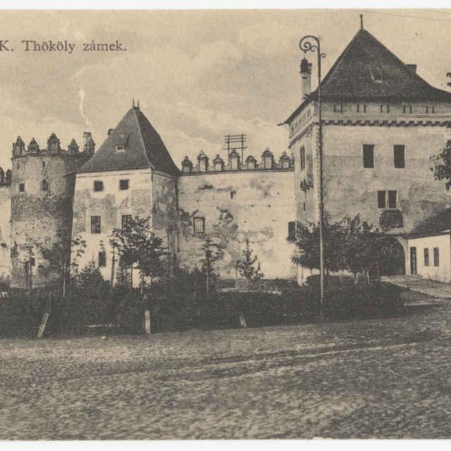 Pohľadnica hradu v Kežmarku