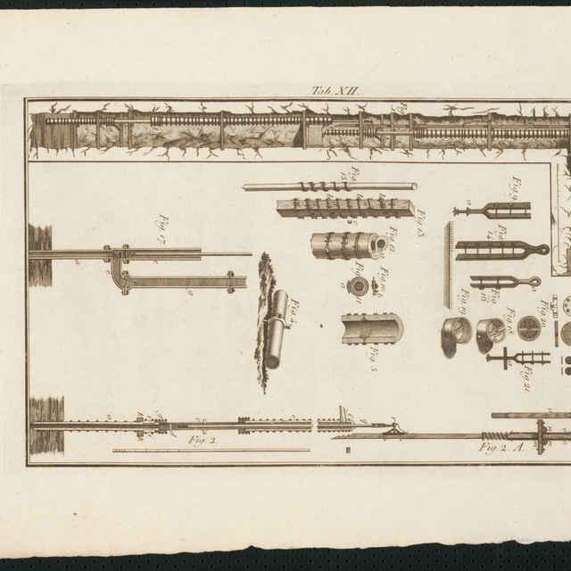 DELIUS, CH. T., tabuľka č. XII. - Delius, Christoph Traugott
