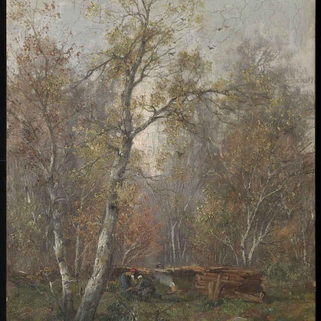Lesná krajina - Kaufmann Adolf