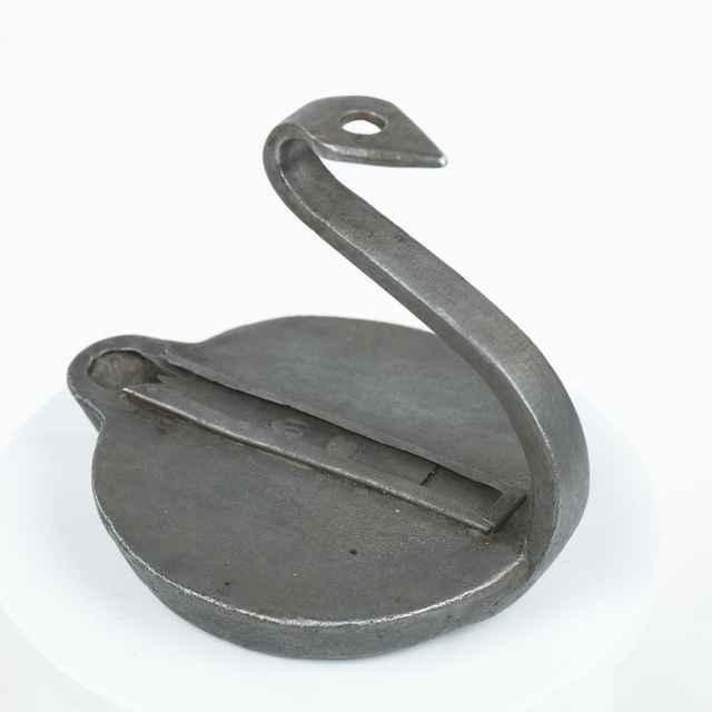 Kahanec malý, kovový, priemer kruhovej základne 8,5 cm