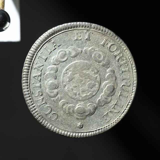 Pamätná medaila na bratislavskú korunováciu Karola VI. ako uhorského kráľa, strieborná