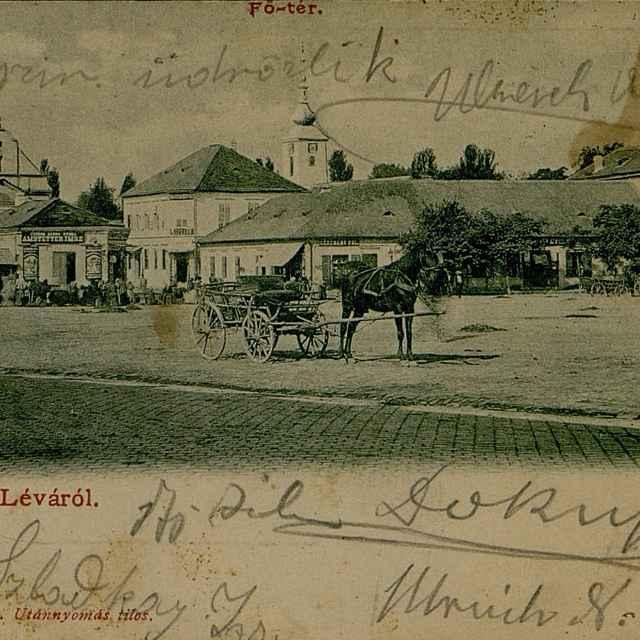 Üdvozlet Léváról