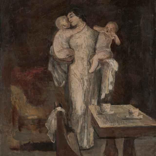 Matka s deťmi - Skutecký, Dominik