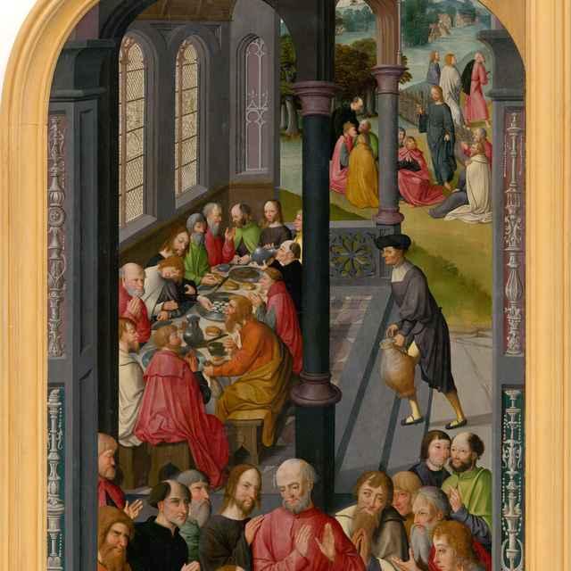 Posledná večera - Nizozemský maliar zo začiatku 16. storočia