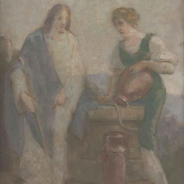 Kristua a Samaritánka - Mitrovský, Milan Thomka