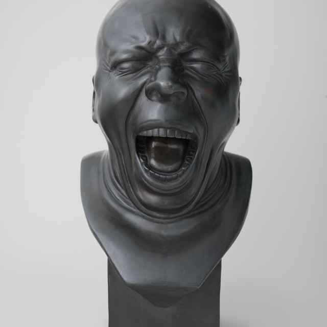 Charakterová hlava č. 5 - Messerschmidt, František Xaver
