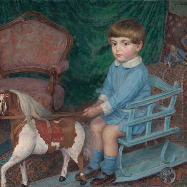 Chlapček s koníkom