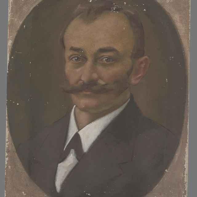Portrét muža - Mitrovský, Milan Thomka