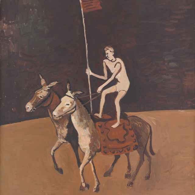 Artista na koňoch - Majerník, Cyprián
