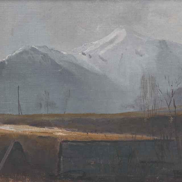 Skorá jar v Belanských Tatrách - Katona, Ferdinand - Výtvarné umenie