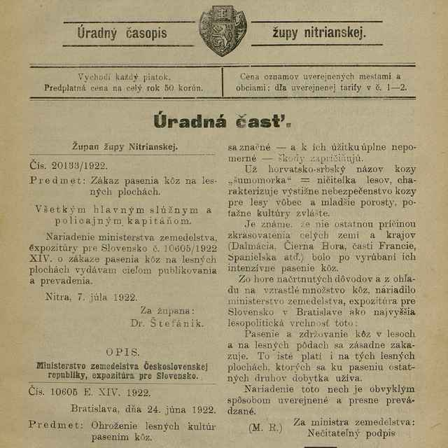 Nitrianske noviny