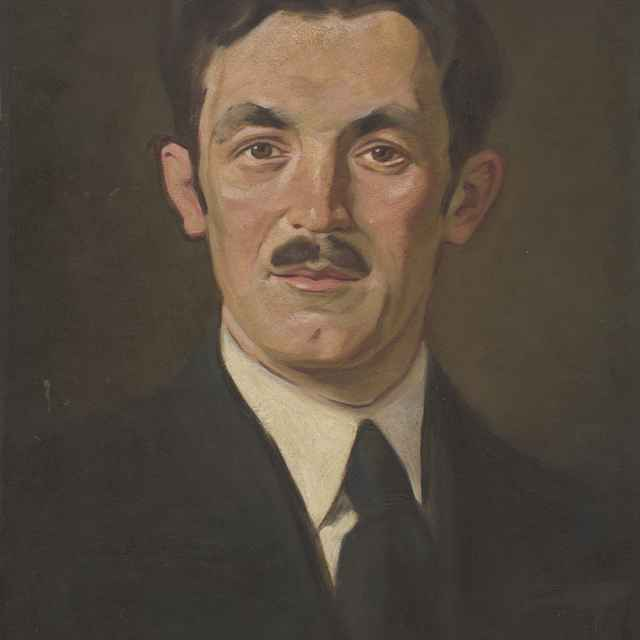 Portrét Dr. Neumana - Mitrovský, Milan Thomka
