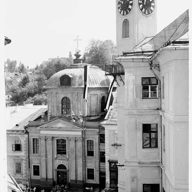 Sklený negatív, evanjelický kostol