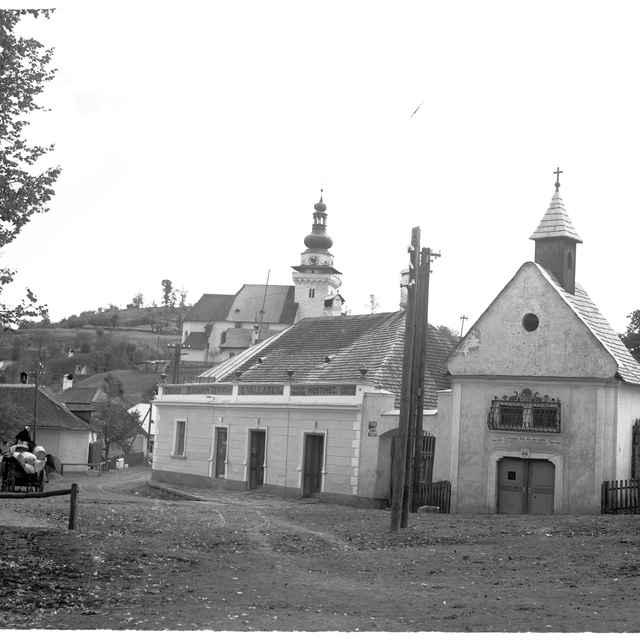 Sklený negatív, Banská Belá