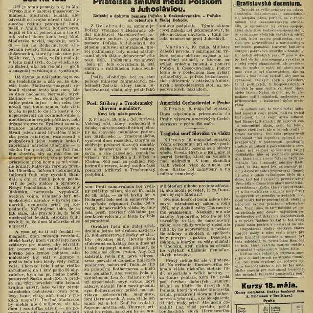 Národný denník - Text