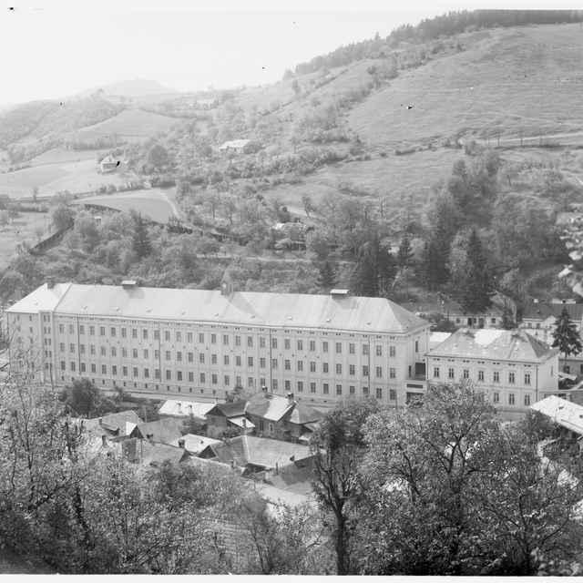 Sklený negatív, tabaková továreň