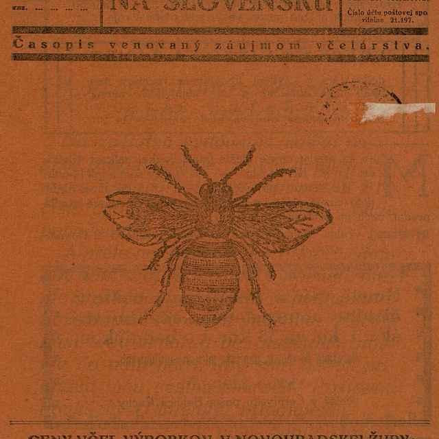 Včelár na Slovensku