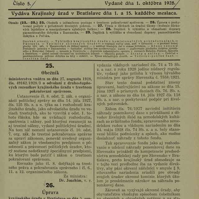 Krajinské noviny pre Slovensko