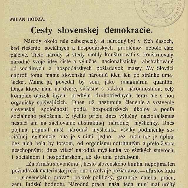 Slovenský obzor