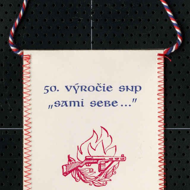 Štandarda k 50. výročiu SNP