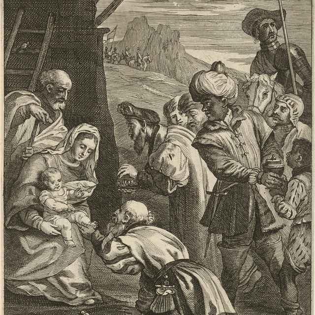 Klaňanie troch kráľov - Titian