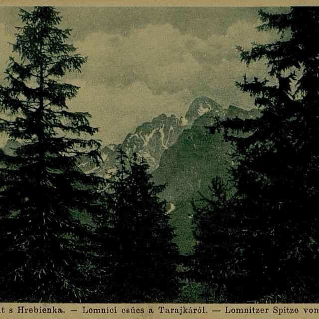 Vysoké Tatry - Lomnický štít s Hrebienka