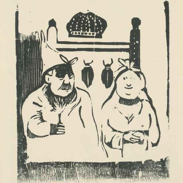 Manželia - Gauguin, Paul