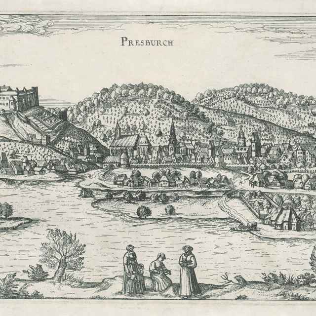 Bratislava - Stredoeurópsky grafik z 18. storočia