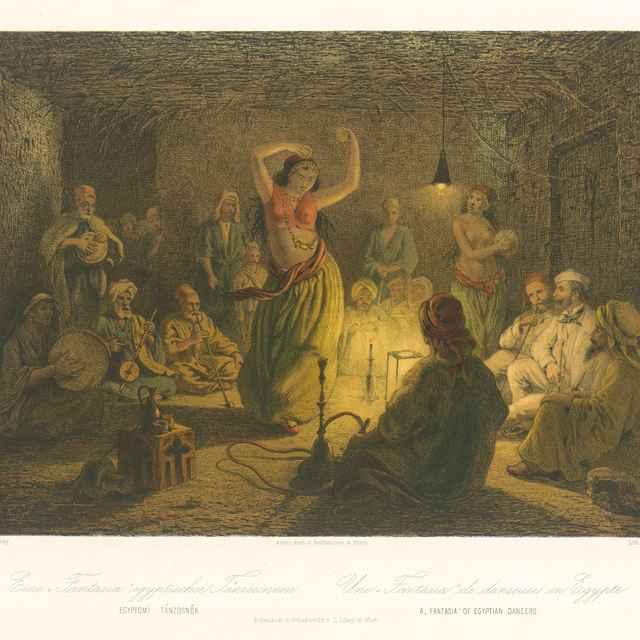 Fantastický tanec egyptskej tanečnice - Libay, Karol Ľudovít