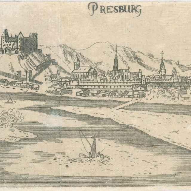 Bratislava - Stredoeurópsky grafik zo 16. storočia