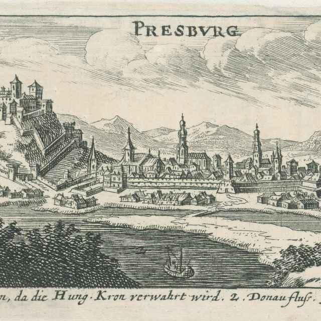Bratislava - Stredoeurópsky autor zo 17. storočia