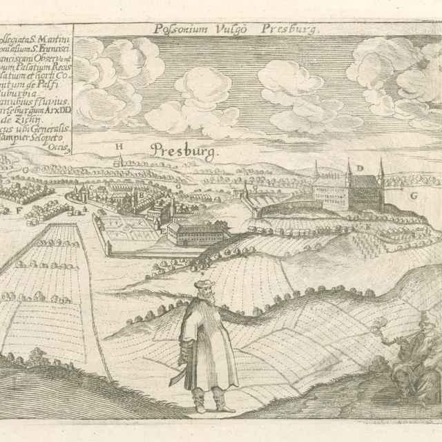 Bratislava - Stredoeurópsky grafik LS zo 17. storočia