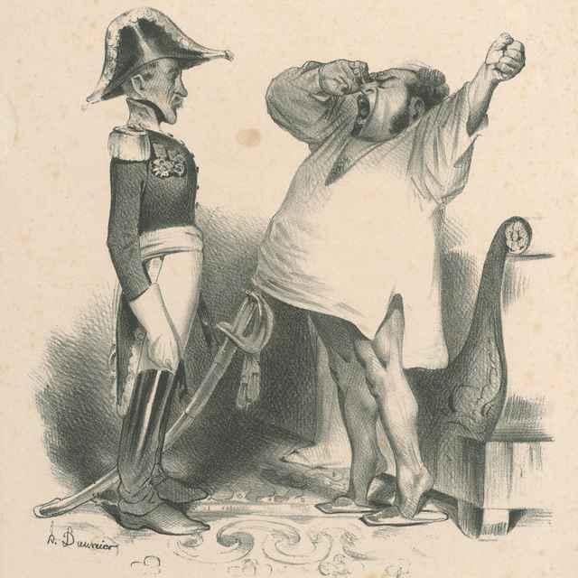 Lisabon je dobytý - Daumier, Honoré