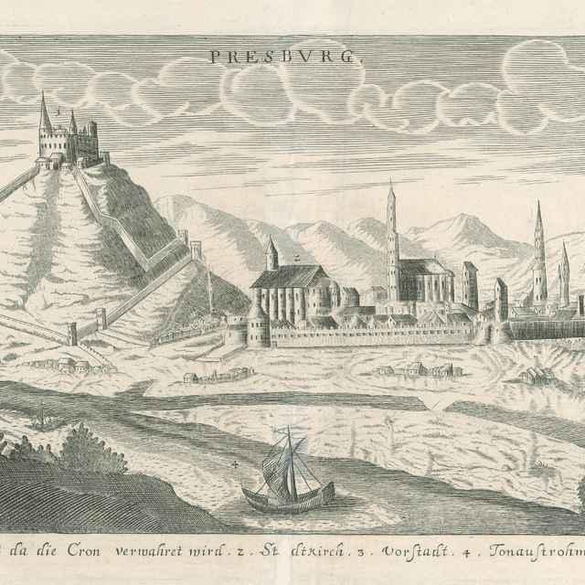 Bratislava - Stredoeurópsky grafik zo 17. storočia