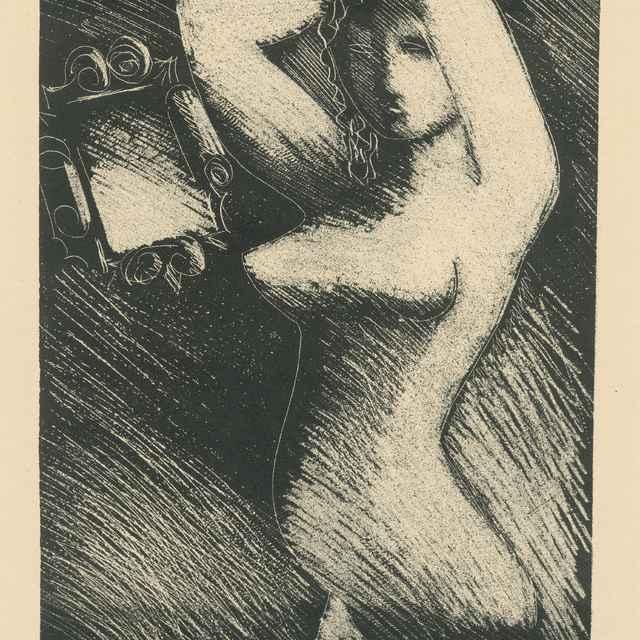Žena pred zrkadlom - Galanda, Mikuláš