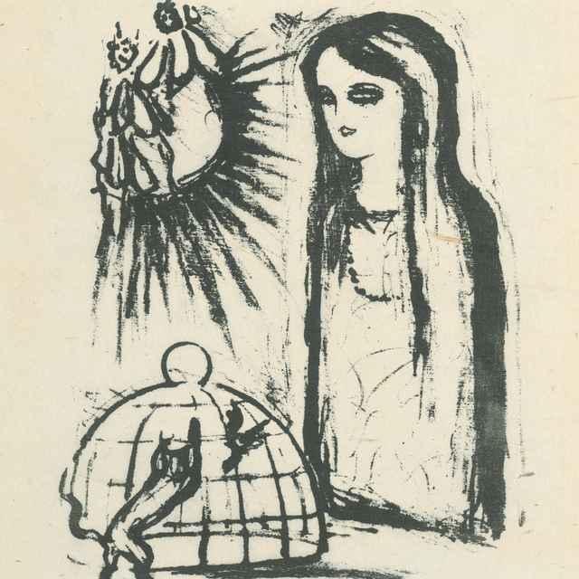 Žena a klietka - Galanda, Mikuláš