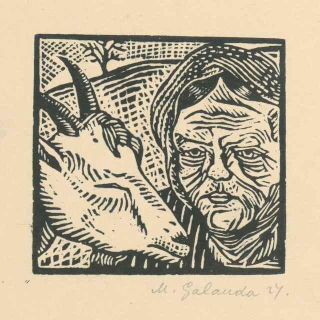 Starena s kozou - Galanda, Mikuláš