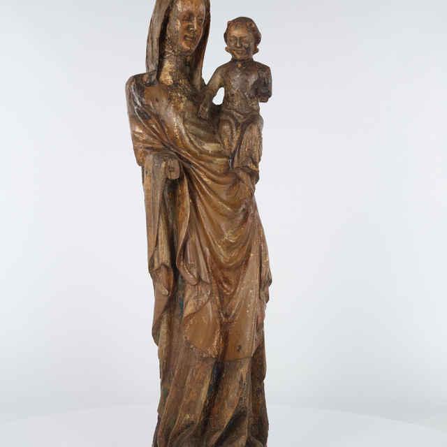 plastika - Madona s Ježiškom z Krásnej Lúky - neznámy (osobné meno)