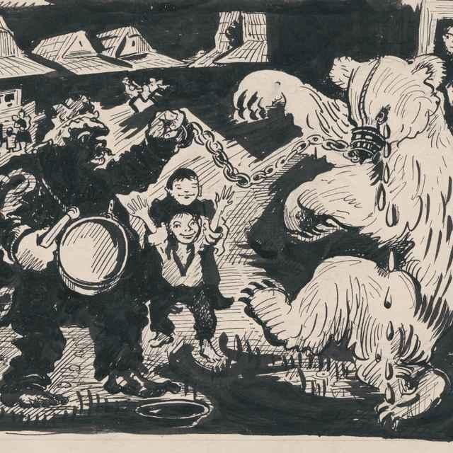 Komediant s medveďom - Weisz-Kubínčan, Arnold Peter