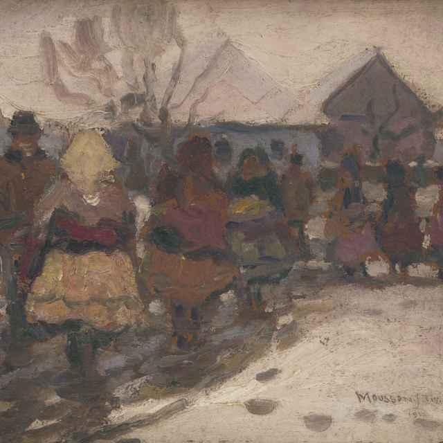 Zima na dedine - Mousson, Teodor Jozef
