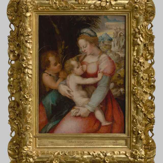 Madona s Ježiškom a malým Jánom - Foschi, Pier Francesco