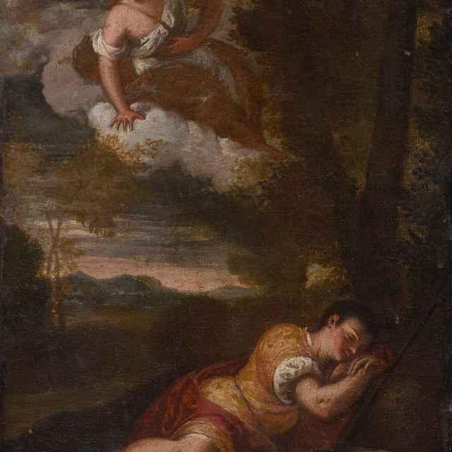 Diana a Endymion - Scarsellino , Ippolito