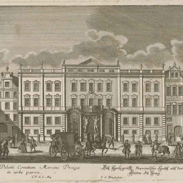 Morzinský palác v Prahe - Ringle, Johann Georg