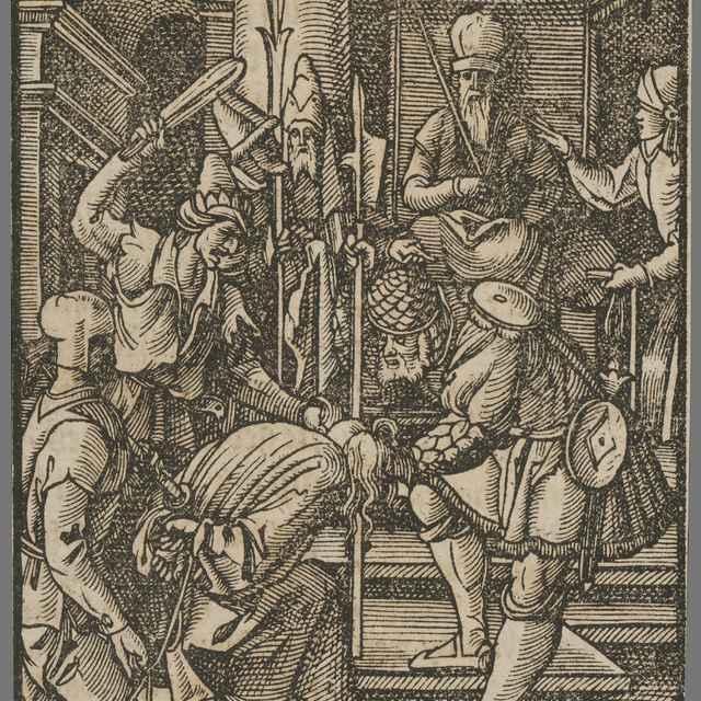 Mučenie Krista - Salis, Carlo