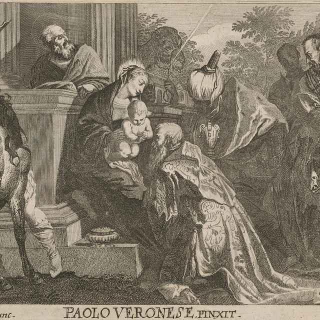 Klaňanie troch kráľov - Prenner, Anton Jozef