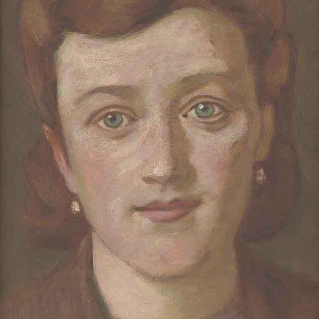 Portrét zelenookej ženy - Mitrovský, Milan Thomka