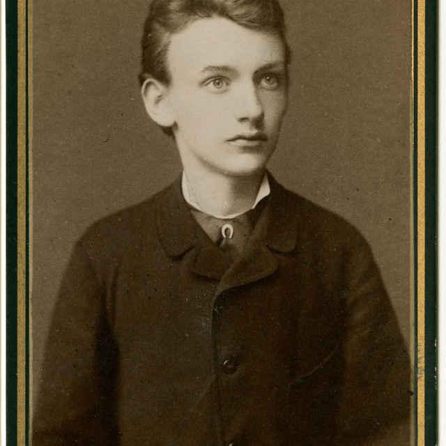 Fotografia mladíka - Muzeálny objekt