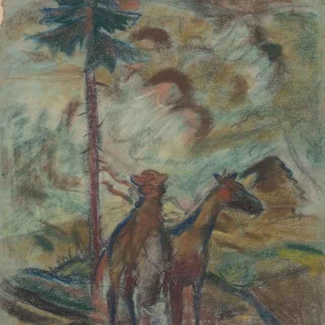 Oravec - štúdia - Weisz-Kubínčan, Arnold Peter