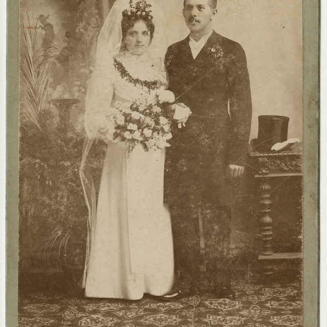 Fotografia manželského páru