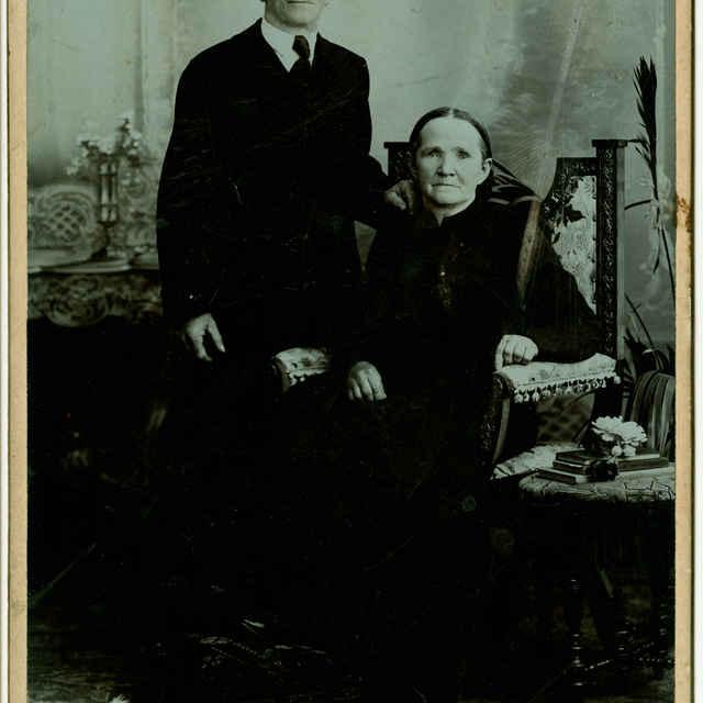 Fotografia starších manželov